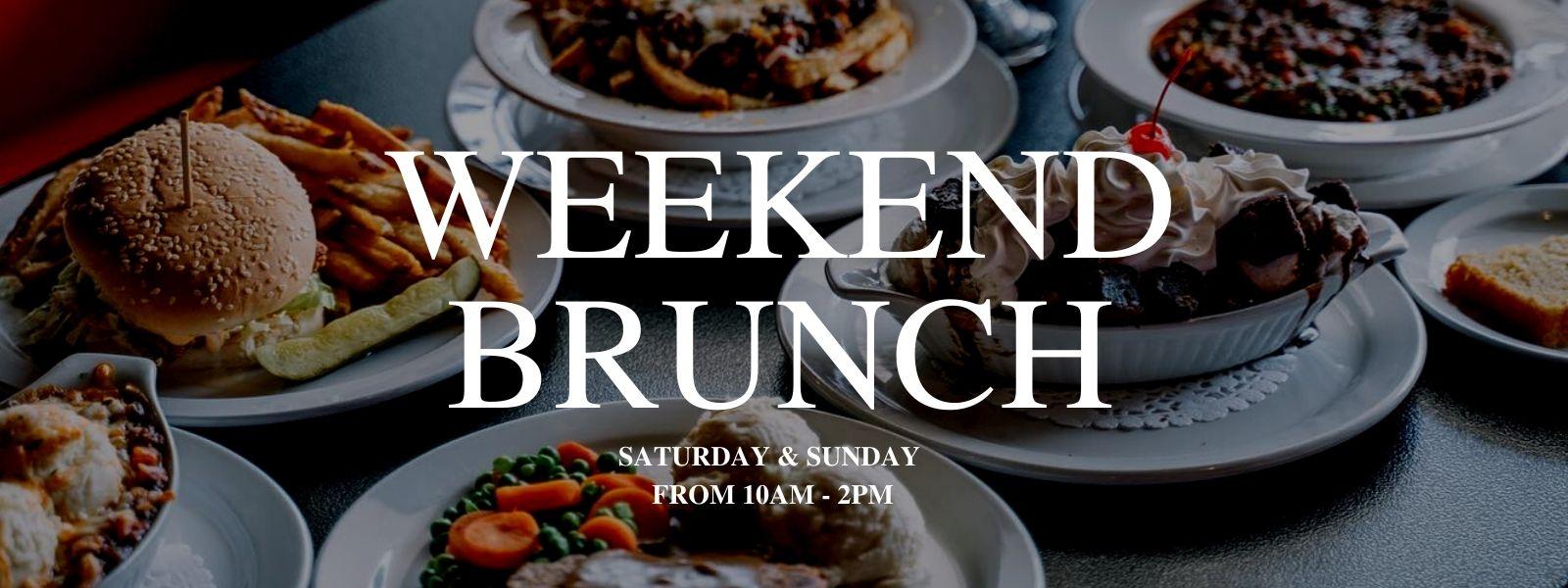 weekend brunch